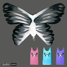 butterfly ribcage by ryehanlon on threadless