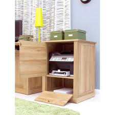 Oak Desk Furniture Printer Storage Cupboard Best Home Furniture Decoration