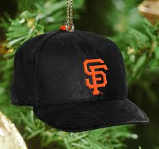 san francisco giants baseball cap ornament holidays
