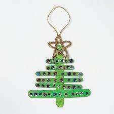 wooden christmas tree ornament craft kit orientaltrading com