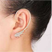 jual ear cuff popular wing cuff buy cheap wing cuff lots from china wing cuff