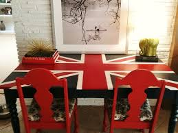 Union Jack Dining Chair British Flag Desk Re Do Diy Pinterest British Flags And Desks