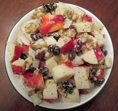 fruit salads for thanksgiving waldorf salad without mayo eat live burp