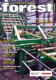 international forest industries magazine oct nov 2016 by