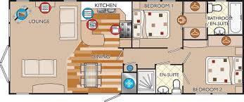 new hshire classic 40 x 16 2 bed sleeps 4 floor plan small