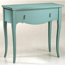 ashley painted sofa console table 32 5hx33 5w teal by home