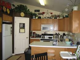 ideas for tops of kitchen cabinets kitchen decorations for above cabinets home decor gallery