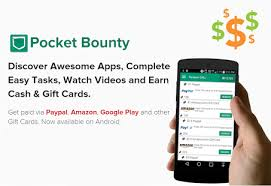 gift card reward apps pocketbounty free gift cards apps on play