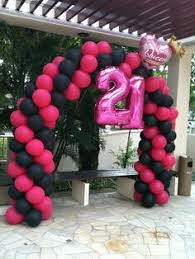 nationwide balloon bouquet delivery service two multi coloured 21st birthday balloons with three yellow golden