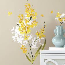 viv raea steven piece flower arrangement wall decal reviews steven piece flower arrangement wall decal