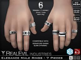 male rings images Second life marketplace re elegance male rings set jpg