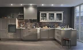 marron cuisine cuisine beige et gris décoration cuisine beige et gris 29