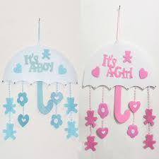 baby room umbrella ornaments birthday decorations for boy