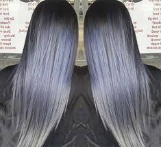 how to color hair to blend in gray 50 magically blue denim hair colors you will love fashionisers