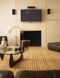 flat screen tv over fireplace interior designs