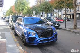 mansory bentley bentley mansory bentayga 19 august 2017 autogespot