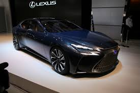 lexus lf lc price in pakistan hydrogen powered lexus lf fc concept previews next gen ls flagship