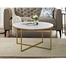 coffee table small gold side table round metal coffee table modern