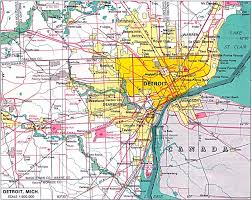 Detroit In World Map by The Founding Of Detroit