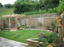 Small Landscape Garden Ideas Garden Designs Wide Garden Design Fence Ideas For Small