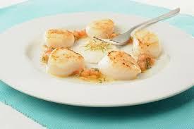 cuisiner noix de st jacques surgel馥s escal recette de noix de jacques à la provençale escal
