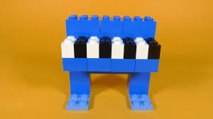 how to build lego piano easy 4630 lego build u0026 play box