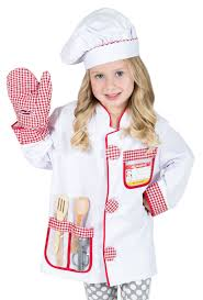 chef costume chef costume pretend play for boys and