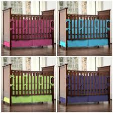 Bright Crib Bedding Solid Color Crib Bedding Modern Bedding Bed Linen