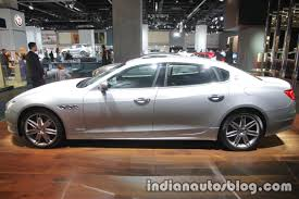 maserati 2017 quattroporte 2018 maserati quattroporte side at iaa 2017 indian autos blog