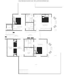 Chalet Floor Plan Book Chalet Mon Izba Luxury Vacation Rentals By Zekkei