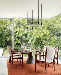 midcentury modern dining rooms