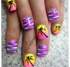 40 palm tree nail art ideas palm tree nail art palm tree nails