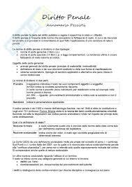 dispense diritto penale lezioni appunti di diritto penale