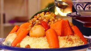 cuisine choumicha arabe recette de couscous marocain aux légumes vf hd vidéo dailymotion