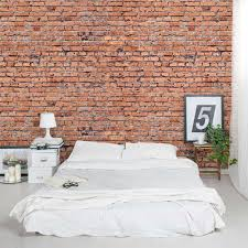 brick walls old red brick wall mural