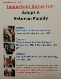 adopt a veteran family wny heroes