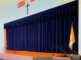 Side Curtains S U0026k Theatrical Draperies St Paschel Church