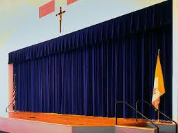 Church Curtains S K Theatrical Draperies St Paschel Church