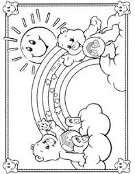 care bears coloring 044 crafty 80 u0027s care bears coloring