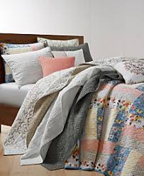Quilted Cotton Coverlet Quilts And Bedspreads Macy U0027s