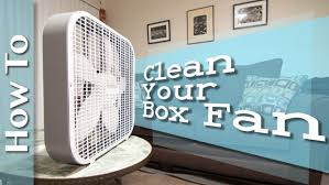 Box Fans Walmart by How To Clean Your Cheap Box Fan Youtube