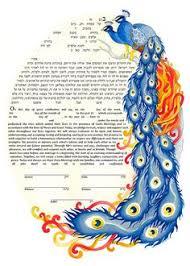 interfaith ketubah tree ketubah watercolor ketubah interfaith ketubah modern