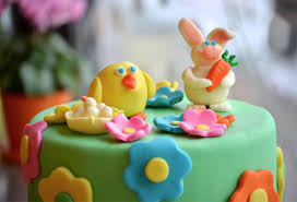 duff goldman and an easter cake at home with kim vallee
