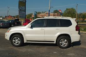 lexus sports car white 2004 lexus gx470 white used suv sale