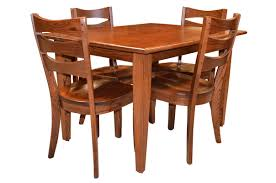 table u0026 chairs shaker leg table and sierra chairs frontier