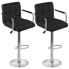uk bar stools white leather bar stool with back and four black wooden legs