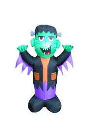 amazon com 4 foot tall halloween inflatable frankenstein party