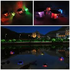 Floating Solar Pond Lights - aliexpress com buy 2 pcs outdoor solar waterproof color changing