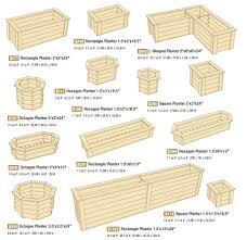 garden planter boxes outdoors garden planters