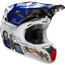 sixsixone motocross helmets fox racing limited edition v3 r2d2 star wars helmet chrome